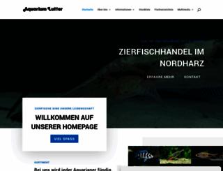 aquarium-lutter.de screenshot