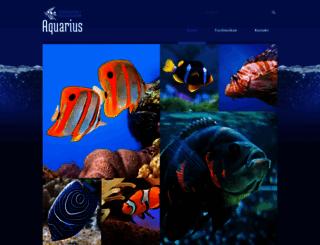 aquarium-ob.de screenshot