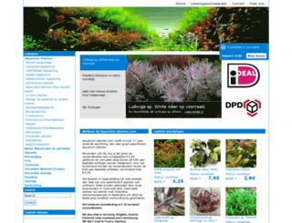 aquarium-planten.com screenshot