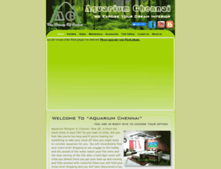 aquariumchennai.com screenshot