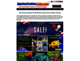aquariumcreationsonline.net screenshot