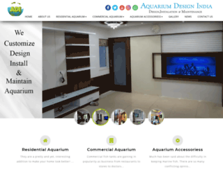 aquariumdesignindia.com screenshot