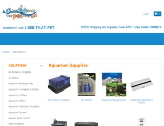 aquariumguys.com screenshot