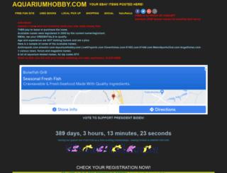 aquariumhobby.com screenshot
