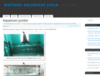 aquariumjogja.bintangmassimo.com screenshot