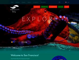 aquariumofthebay.org screenshot