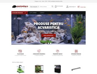 aquariumshop.ro screenshot