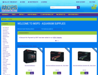 aquariumsupplies.ca screenshot
