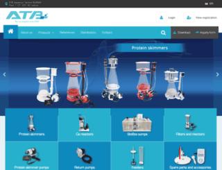 aquariumtechnik.at screenshot