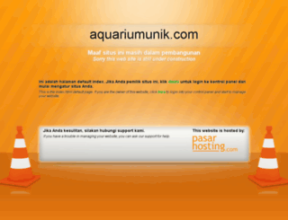 aquariumunik.com screenshot