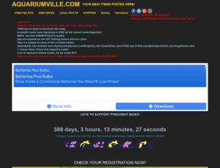 aquariumville.com screenshot