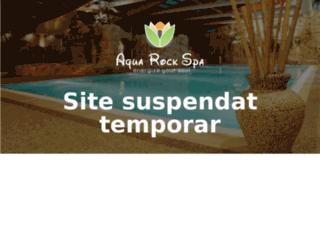 aquarockspa.ro screenshot