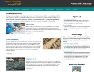 aquascapeconsulting.com screenshot