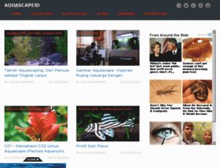 aquascapeindo.com screenshot