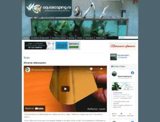 aquascaping.ro screenshot