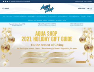 aquashop.com.au screenshot