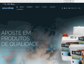 aquashop.pt screenshot