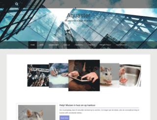 aquaster.nl screenshot
