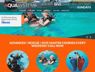 aquasystems.ca screenshot