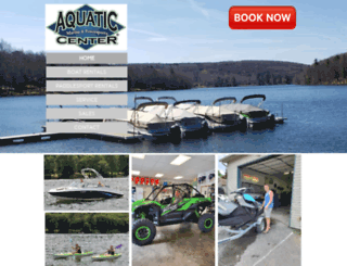 aquatic-center.com screenshot