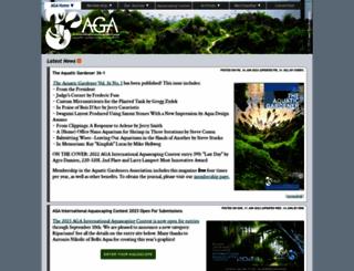 aquatic-gardeners.org screenshot