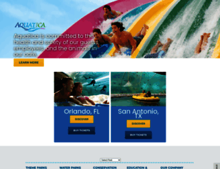 aquaticabyseaworld.com screenshot