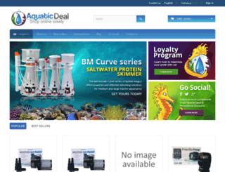 aquaticdeal.com screenshot