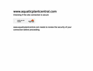 aquaticplantcentral.com screenshot