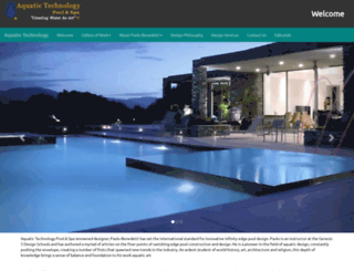 aquatictechnology.com screenshot