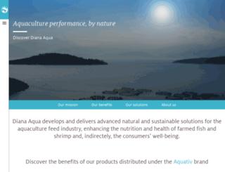 aquativ-diana.com screenshot