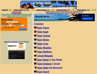 aquatravel.ro screenshot