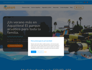aquavera.es screenshot