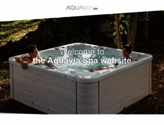 aquaviaspa.com screenshot