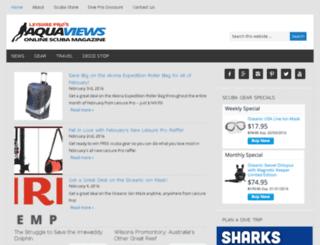 aquaviews.net screenshot
