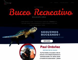 aquaxplora.com screenshot