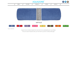 aquazorb.com screenshot