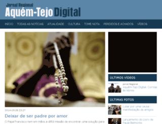 aquemtejodigital.pt screenshot