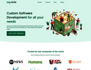 aquevix.com screenshot