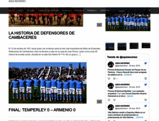 aquiascenso.com.ar screenshot