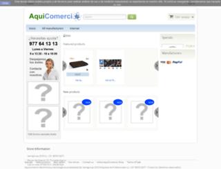 aquicomercio.es screenshot