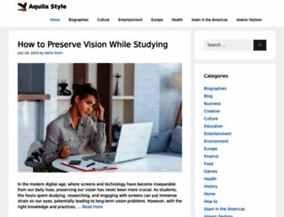 aquila-style.com screenshot