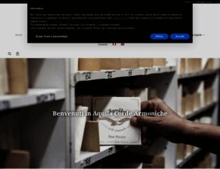 aquilacorde.com screenshot