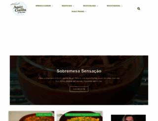 aquinacozinha.com screenshot