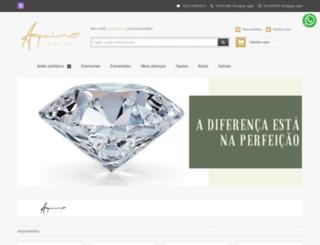 aquinojoias.com.br screenshot