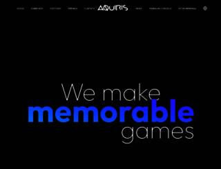aquiris.com.br screenshot