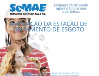 aquitemsemae.com.br screenshot