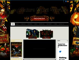 aqworldsindo.blogspot.com screenshot
