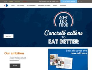 ar-intragroup.carrefour.com screenshot