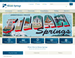ar-siloamsprings.civicplus.com screenshot
