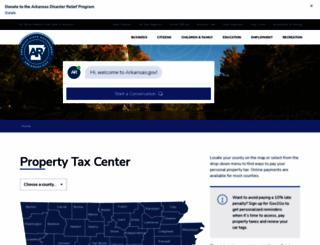 ar-tax.org screenshot